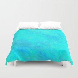 Aqua Color Duvet Cover