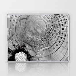 Fragmented Fractal Memories and Shattered Glass Laptop & iPad Skin