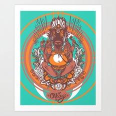 West Ganesh - Color Art Print