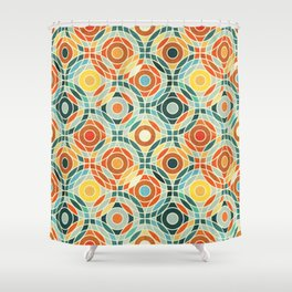 Bauhaus Geometric Shower Curtain