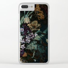 Beautiful Bohemian Bouquet Clear iPhone Case