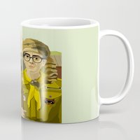 moonrise kingdom Mugs featuring Moonrise Kingdom Gothic by Xenia Pirovskikh