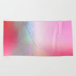 Wabi Sabi Mended Rainbow Gradient Beach Towel