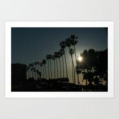 Hello, Palm Trees Art Print