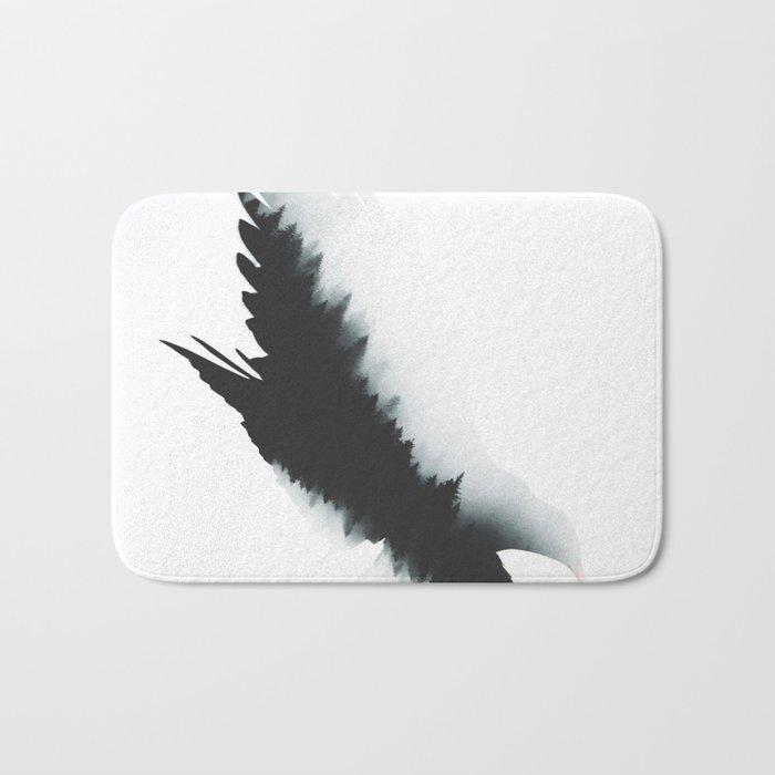 The crow Bath Mat