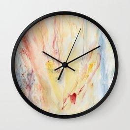 Sunlit and Skewed Wall Clock
