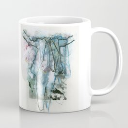 Blue Suit and Clouds Coffee Mug