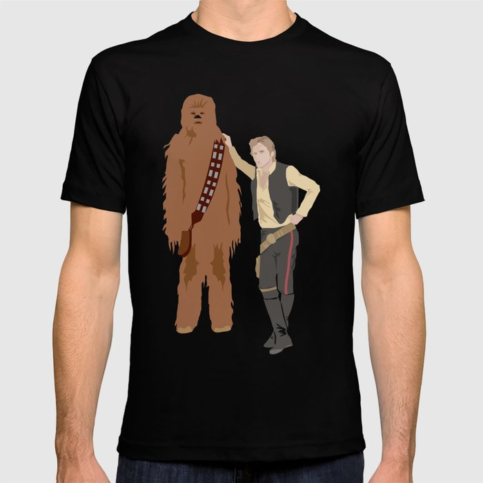 Han Solo And Chewbacca T Shirt By Route2 Society6