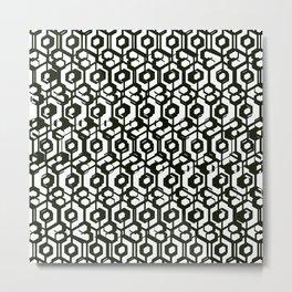 Blac & White  Metal Print