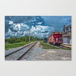Train To Nowhere Canvas Print