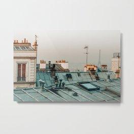 Paris Rooftop #1 Metal Print