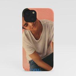 Artwork K-Pop SEVENTEEN Mingyu iPhone Case