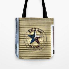 Texas Welcome Tote Bag