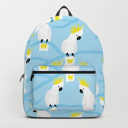 A Squabble Of Cockatoos Backpack