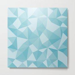 Geometric pyramids V3 Metal Print