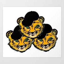 OG Cheetah Art Print