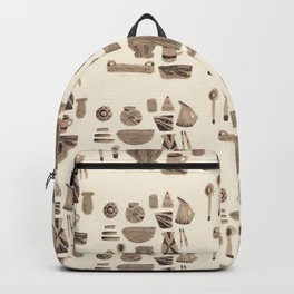 Dinnerware for Entertaining, 1958 Backpack