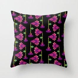 Mega Floral Throw Pillow