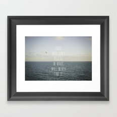 Those who don't believe... Framed Art Print