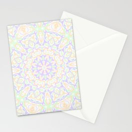 Pastel Kaleidoscope 2 Stationery Cards