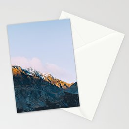 Dawn Mountain - Kenai Fjords National Park II Stationery Cards