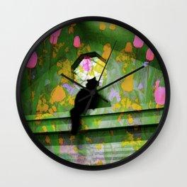 A Pretty Day Wall Clock
