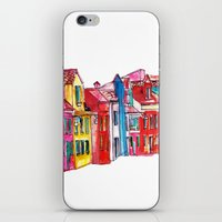 italy iPhone & iPod Skins featuring Italy by Dheiuk