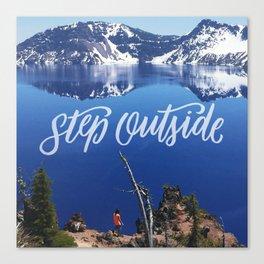 Step Outside Canvas Print