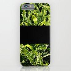 paprat (black) Slim Case iPhone 6s