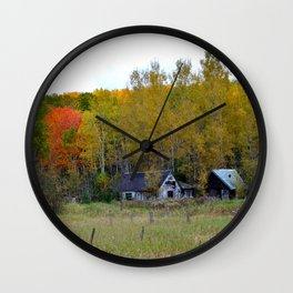 Old Homestead Wall Clock