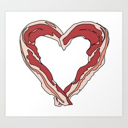 Baconlove Art Print