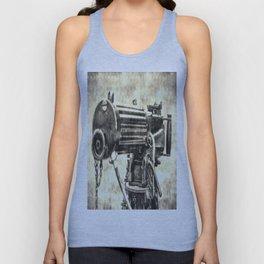 Vickers Machine Gun Vintage Unisex Tank Top