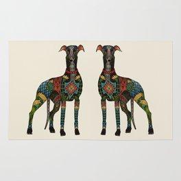 greyhound ivory Rug