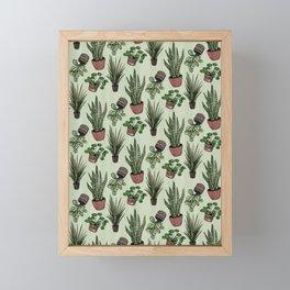Plant Fam Framed Mini Art Print