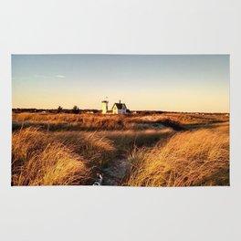 Hardings Beach Light House Rug