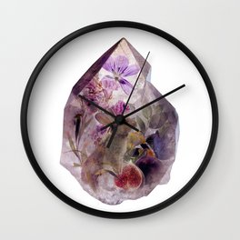 The Crystal and The Hare Wall Clock