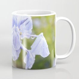Drooping Purple Flowers Coffee Mug
