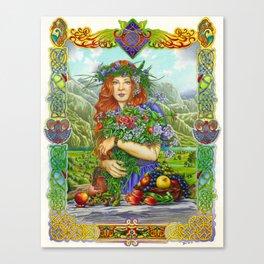 Celtic Summer Canvas Print