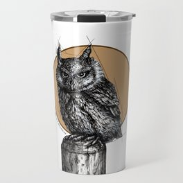 Owl sun Travel Mug