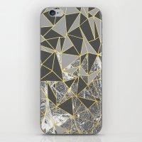 Ab Marb Grey Returned iPhone & iPod Skin