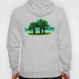 Tropical Tree Trio Hoody