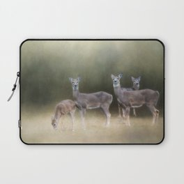 Stepping Into The Light Laptop Sleeve
