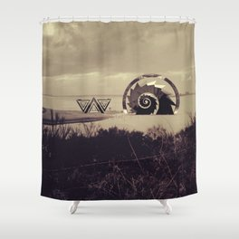 Intervention 39 Shower Curtain