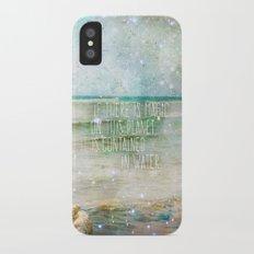 Aqua Magicae iPhone X Slim Case