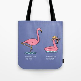 Types of flamingo Tote Bag