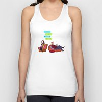 birthday Tank Tops featuring Birthday Cake Birthday Cake by Blue