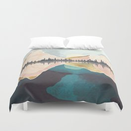 Summer Reflection Duvet Cover
