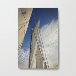 Sailing Fun Metal Print