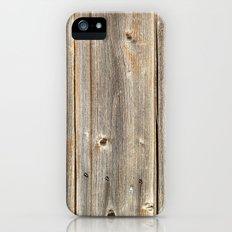 Old Rustic Wood Texture Slim Case iPhone (5, 5s)