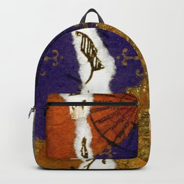 HTC Blue and Gold Backpack